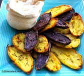 Twice-Baked Fingerling Potatoes with Rosemary & Sea Salt